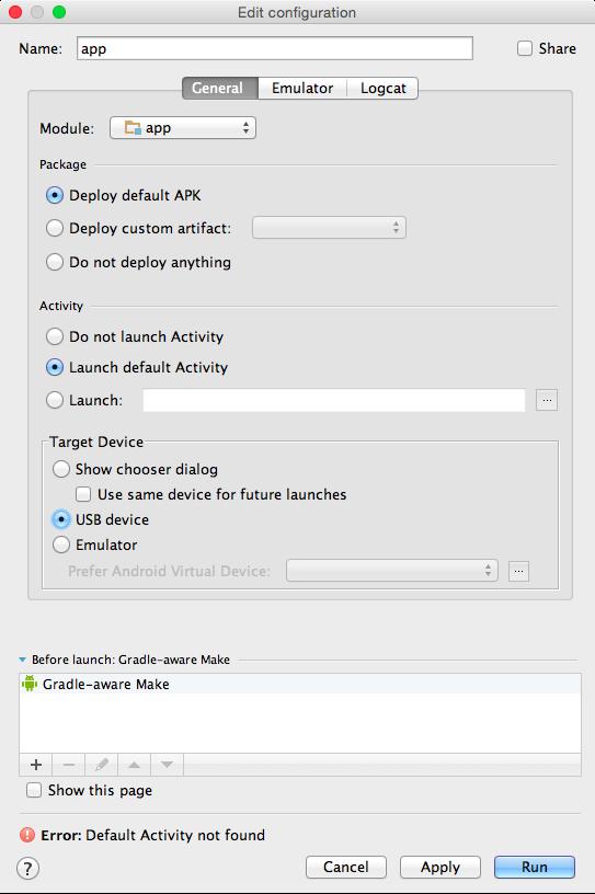 Download Error Running 'App' Default Activity Not Found Pictures