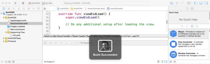 Xcode_Swizzle_DispalAlert