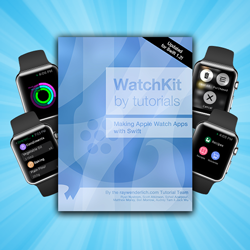 WatchKit by Tutorials Updated for Swift 1.2 and Print Version Released!
