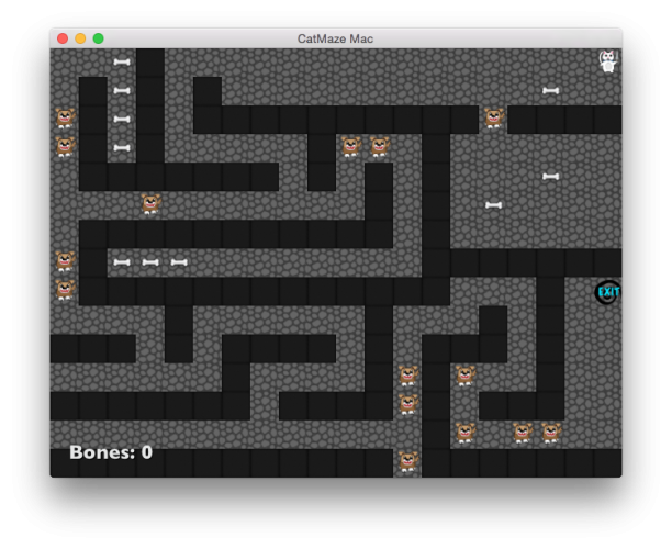 Cat Maze: A simple tile-based Sprite Kit game for iOS and OS X