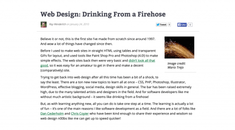DrinkingFirehose