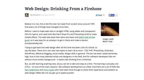 DrinkingFirehose