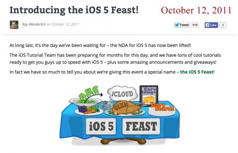 iOSFeast