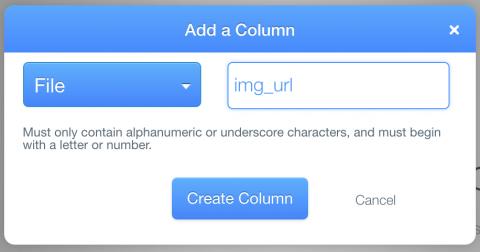 Add img column