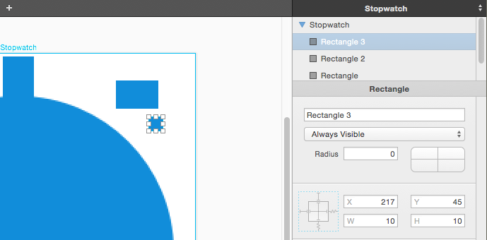PaintCode create rectangle