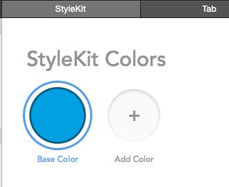 PaintCode StyleKit colors