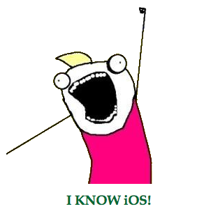 I KNOW iOS
