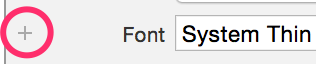 add adaptive font