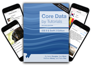 Core Data by Tutorials Second Edition