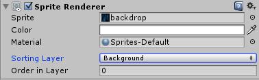 Lander-backdrop-sorting-layer