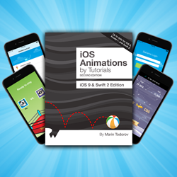 iOS Animations by Tutorials Second Edition Now Available!