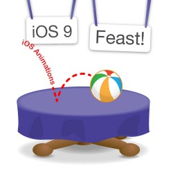 An iOS animation tutorial for the iOS 9 Feast!