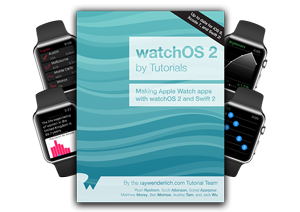 watchOS 2 by Tutorials