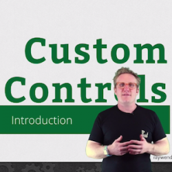 New Video Tutorial Series: Introducing Custom Controls