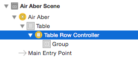 Table-Row-Controller