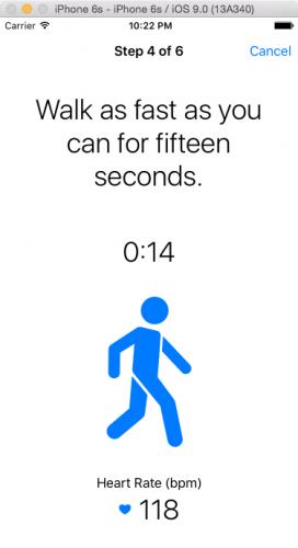 Walk task