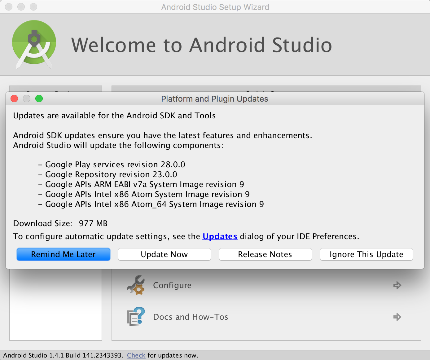 Beginning Android Development Part One: Installing Android Studio