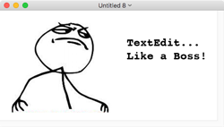 TextEdit Like a Boss