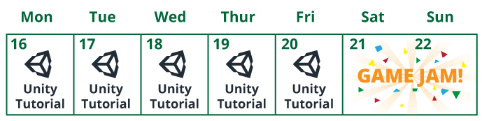 Unity Feast Calendar