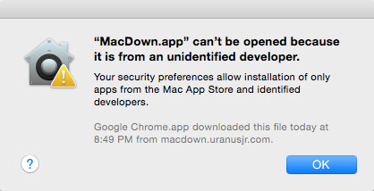 MacDown Gatekeeper Error