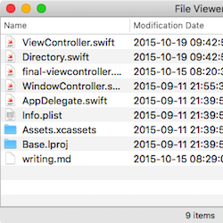 OS X NSTableView Tutorial