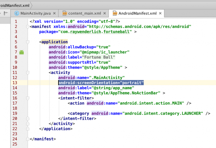 how to turn your code into an app android studio