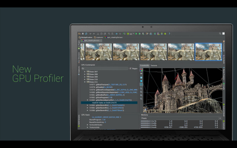 Android Studio: GPU Profiler