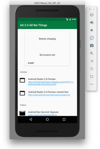 Android Emulator 2.0
