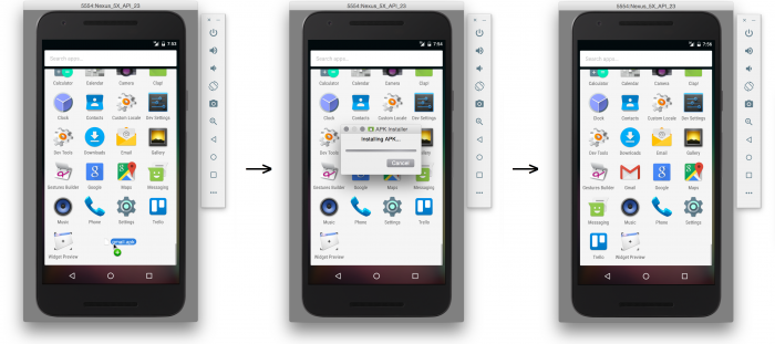 Android Emulator 2.0: Drag and Drop APKs