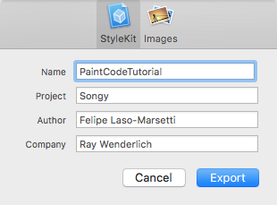 PaintCodeExport