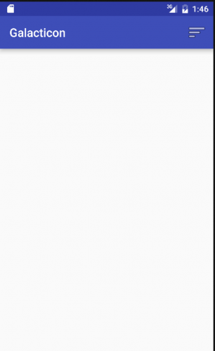 1. Empty App