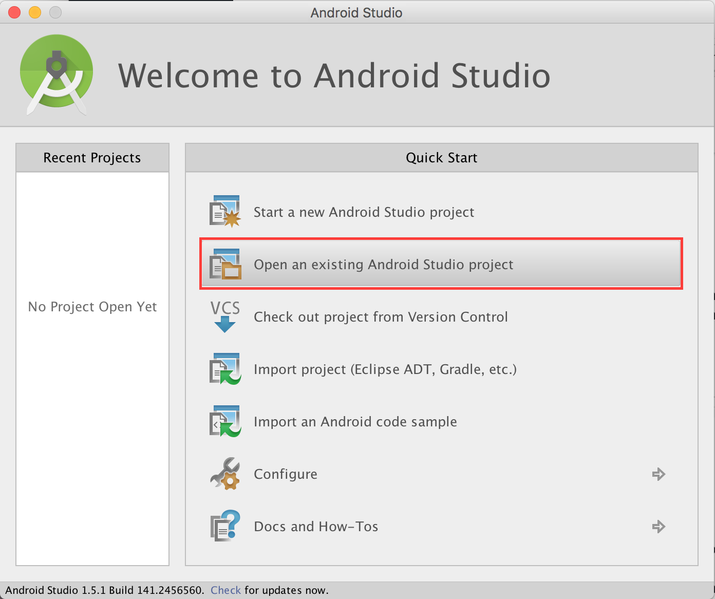 Android networking tutorial getting started quickstartmenu baditri Choice Image