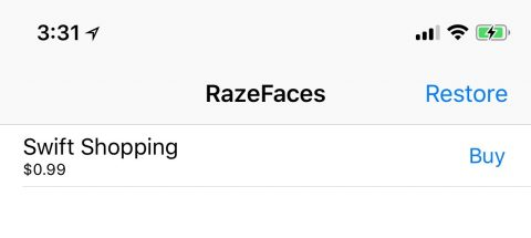 RazeFaces - Run 2