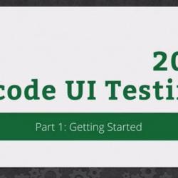 RWDevCon 2016 Session 207: Xcode UI Testing