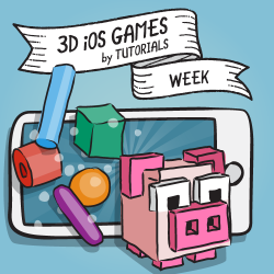 3D iOS Games by Tutorials Week