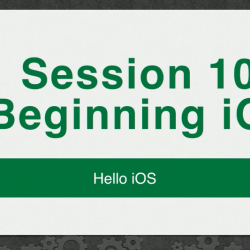 RWDevCon 2016 Session 102: Beginning iOS