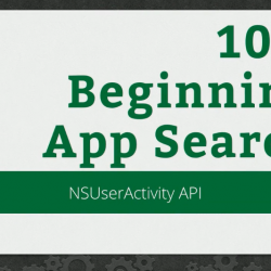 RWDevCon 2016 Session 104: Beginning App Search