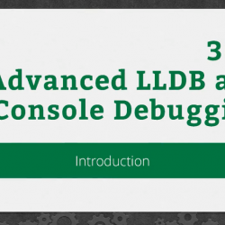RWDevCon 2016 Session 302: Advanced LLDB and Console Debugging