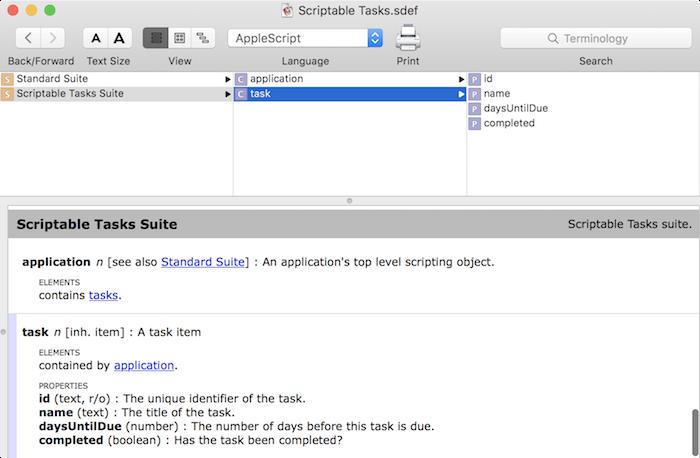 Making A Mac App Scriptable Tutorial | raywenderlich com
