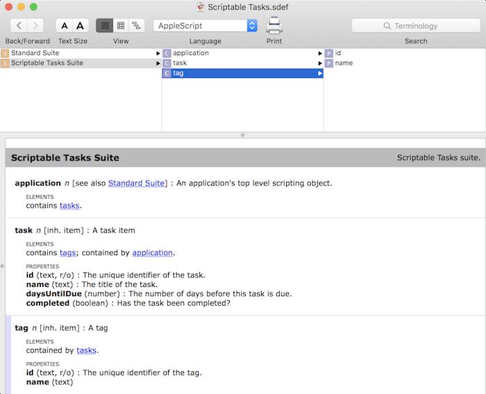 making a mac app scriptable tutorial