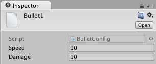 Set bullet properties