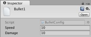 Set bullet properties