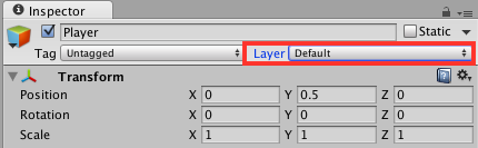 The layer location