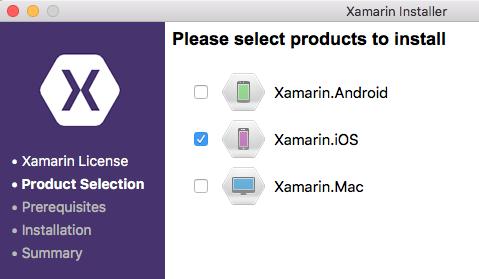 Xamarin Installer