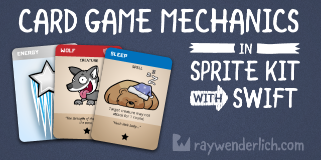 Card Game Mechanics in Sprite Kit with Swift