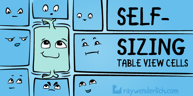 Self-sizing Table View Cells