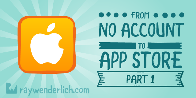 how to create an apple app store account