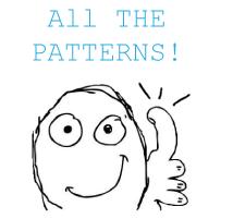 pattern matching all the patterns!