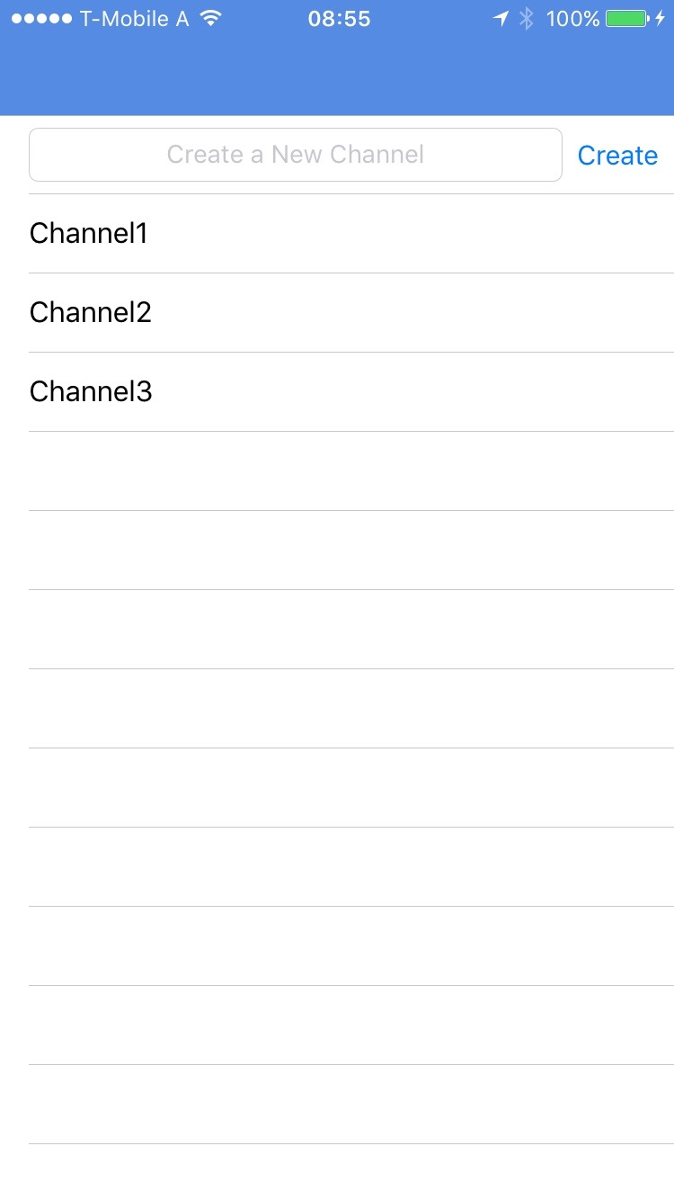 Dummy channels