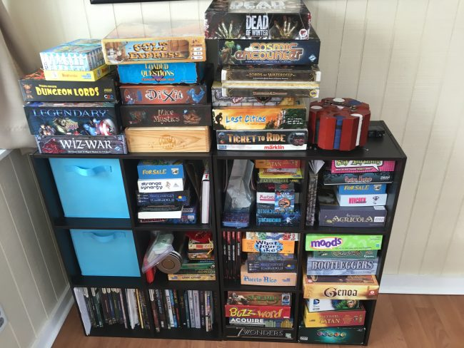 The Ray Wenderlich board game collection